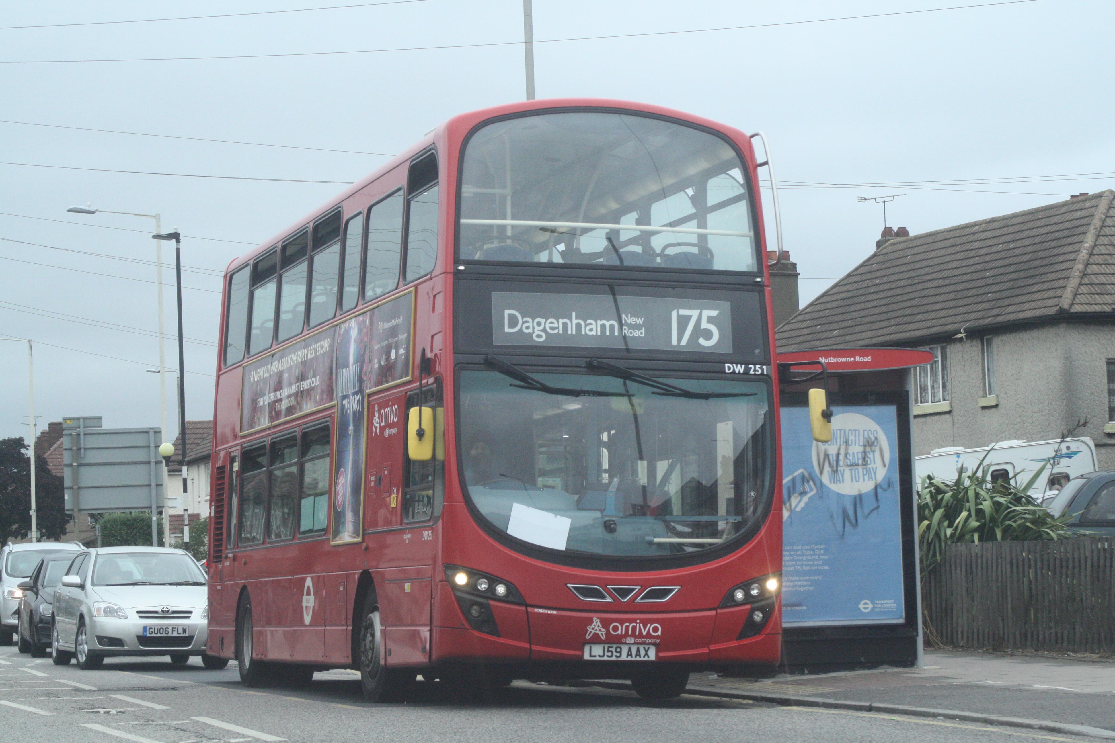 LJ59AAX DW251 AR LONDON N 175 (HEATHWAY) 4-7-20