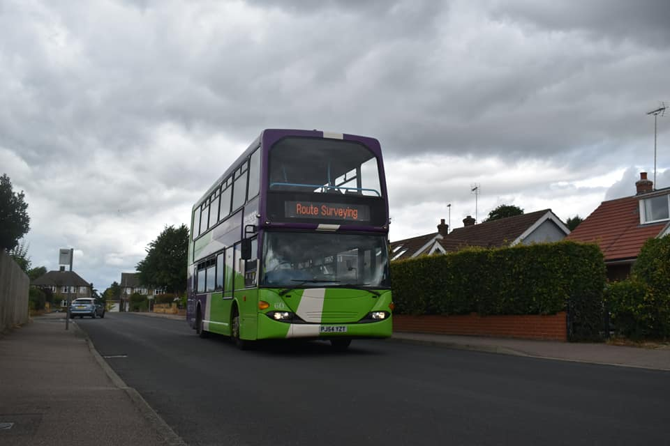 PJ54YZT 60 IB ROUTE SURVEYING (POETS CORNER CR) 1-7-20 (JAMES COLE)