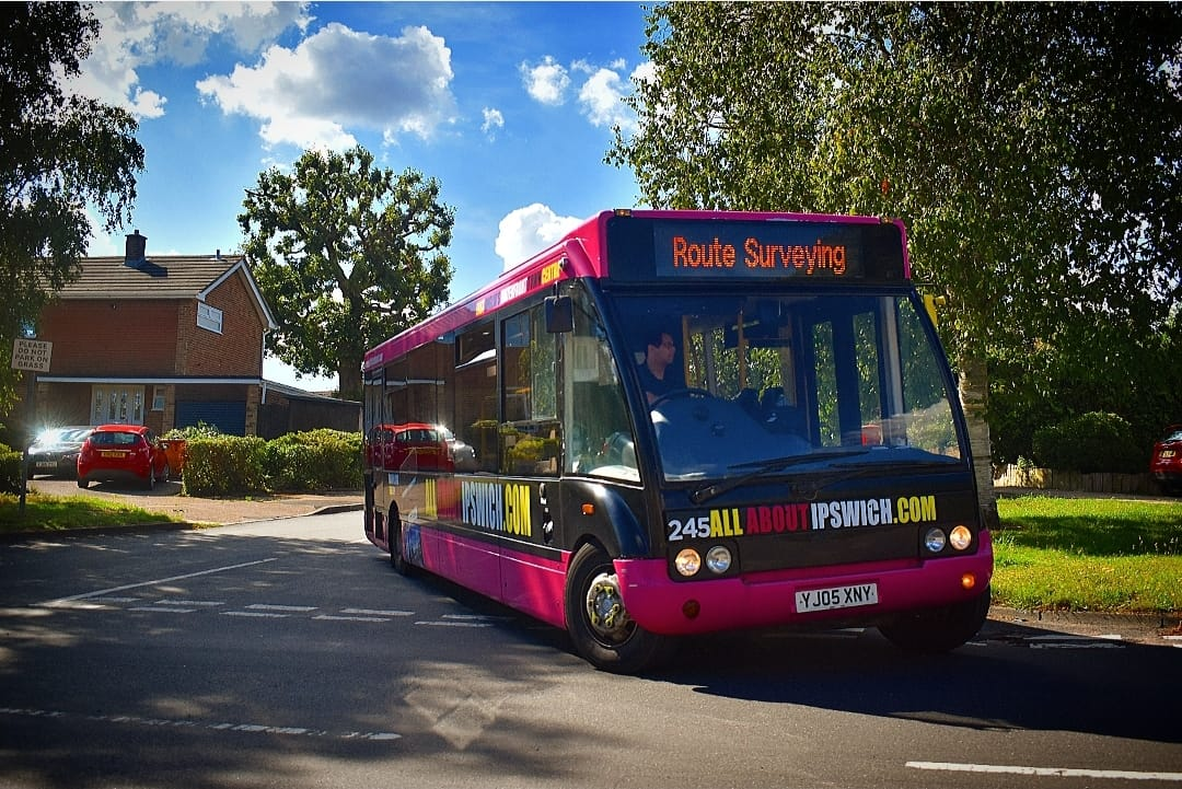 YJ05XNY 245 IB ROUTE SURVEY (POETS CORNER CR) 12-7-20 (J COLE)