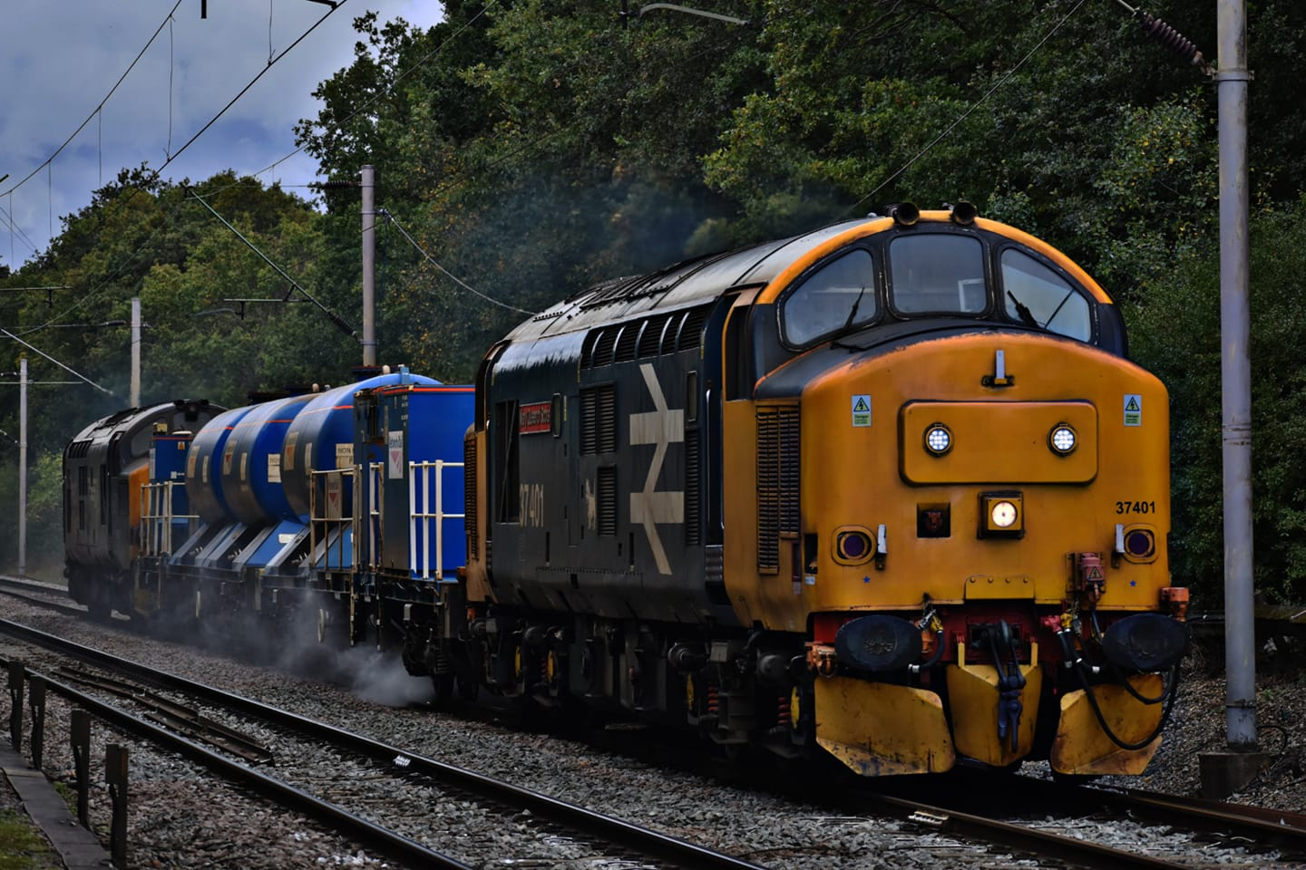 37401 DRS RHTT (CHITTS HILL) 30-9-20 (J COLE)