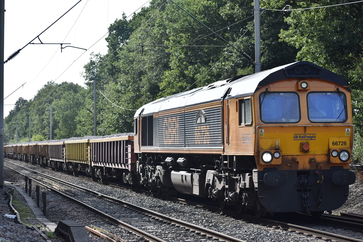 66726 GBRf 6T64 WHITEMOOR-STRATFORD-IPSWICH (CHITTS HILL) 12-9-20 (JAMES COLE)