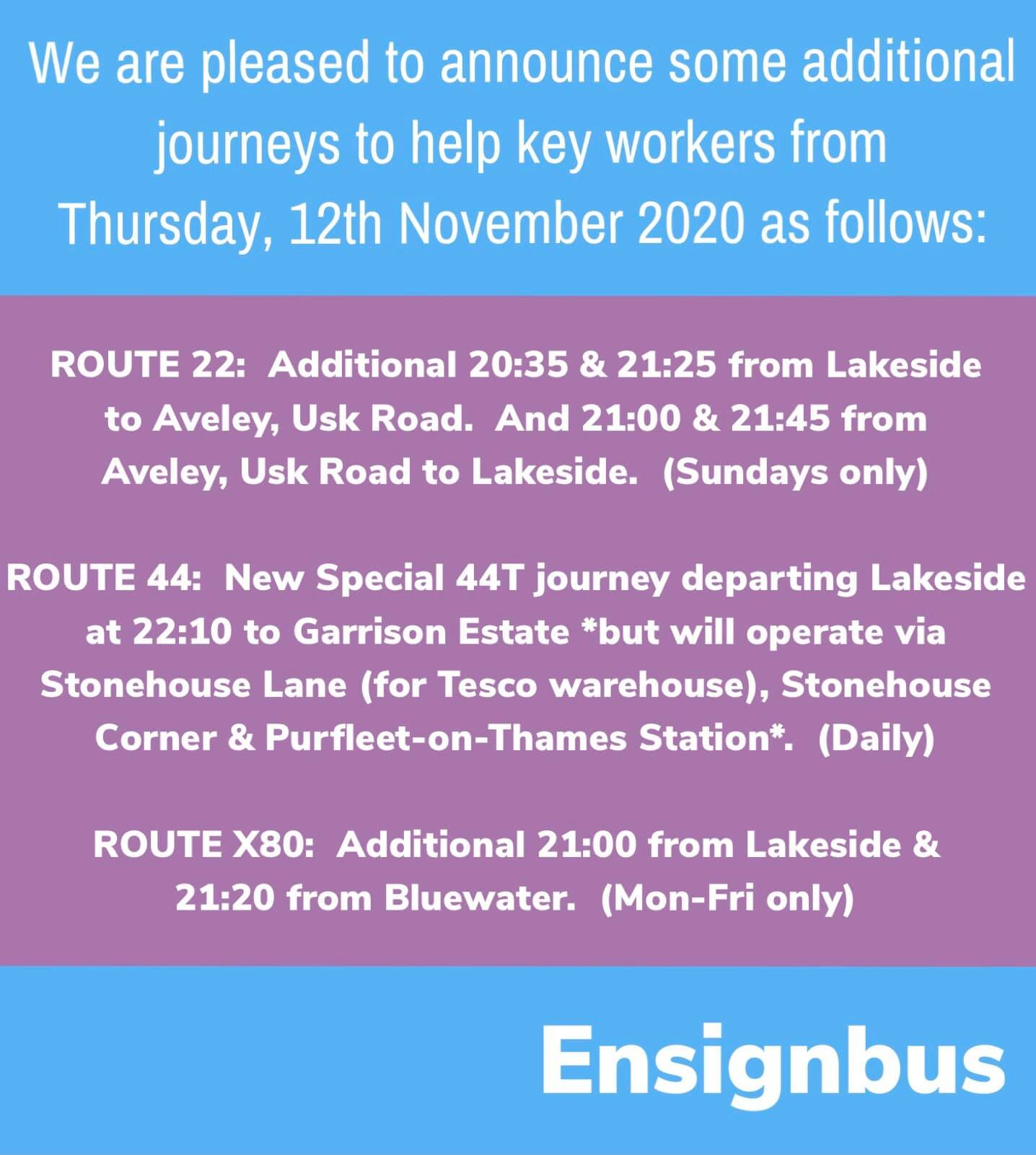 ENSIGNBUS KEY WORKER SERVICE EXTRAS 11-11-20 (D DISBURY)