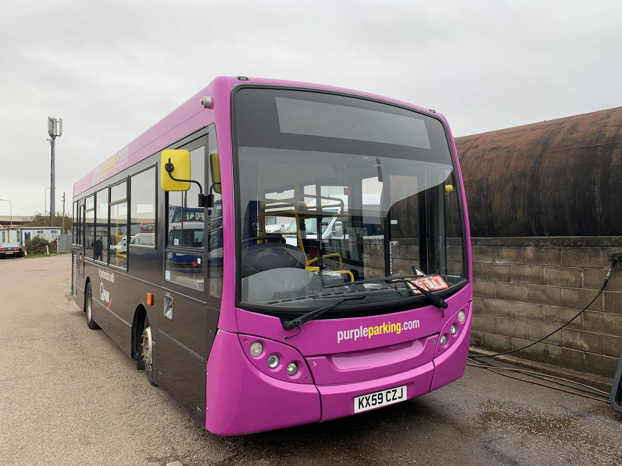 KX59CZJ PANTHER EX PURPLE PARKING (PARKESTON DEPOT) 12-20 (S BARHAM)