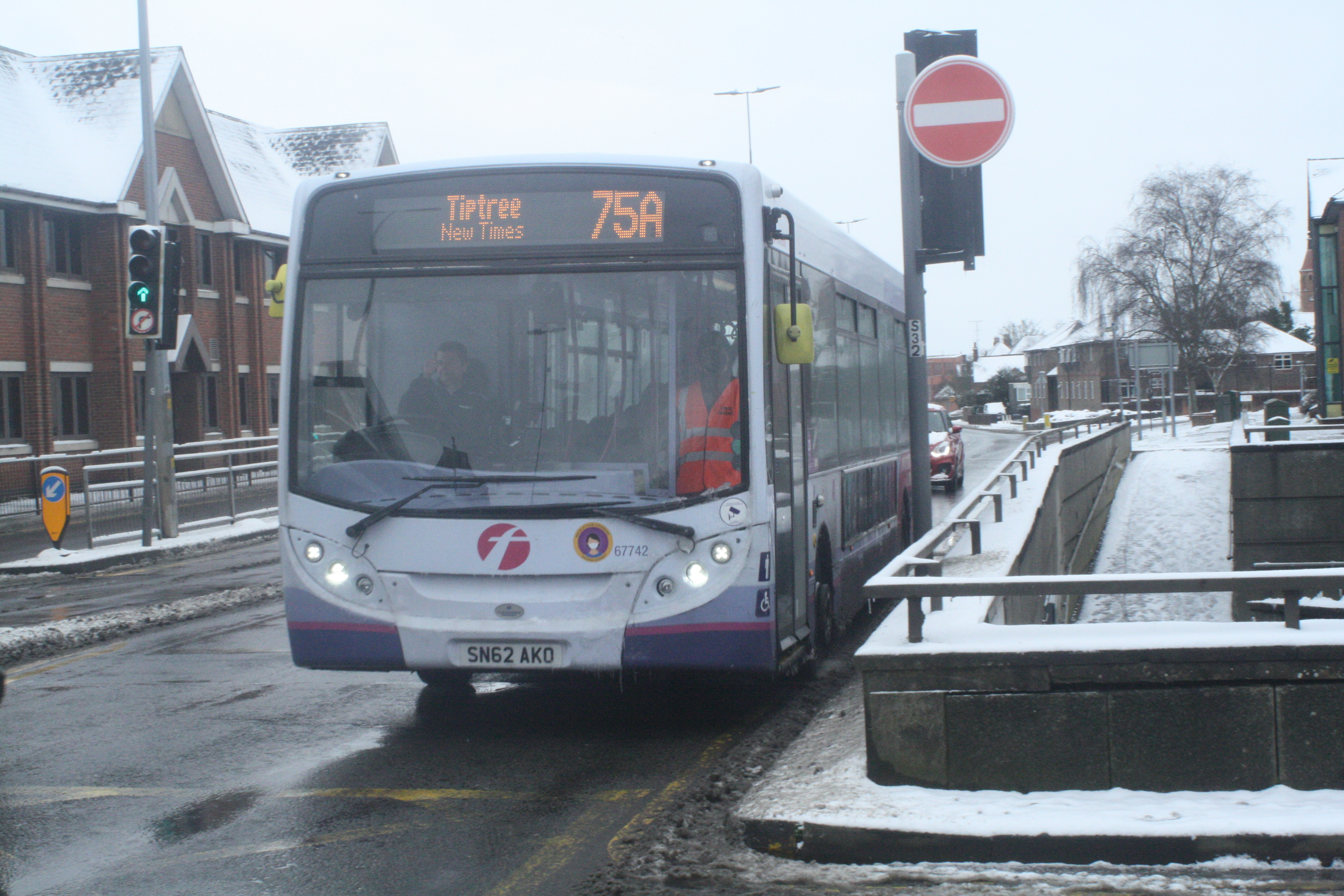 SN62AKO 67742 FE 75A (SOUTHWAY CR DIVERSION) 8-2-21