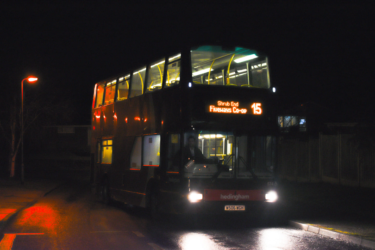 W506WGH 574 HO 15 (SCOTT DRIVE CR) 16-2-21 (J COLE)